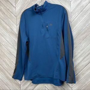 Nike ACG Blue 1/4 Zip Pullover Jacket L